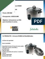 Presentacion Black and Decker Olla