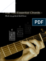 The 150 Essential Guitar Chords