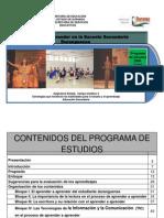 Ficha Tecnica Prog de Estudios AAESD