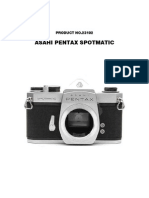 Asahi Pentax Spotmatic Repair Manual