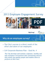 2013 Vancouver City Employee Engagement Results