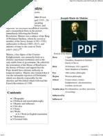 20121111 Joseph Marie de Maistre 1753 1821 Franca Wikipedia