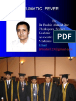 RHEUMATIC HEART DISEASE BY DR BASHIR AHMED DAR ASSOCIATE PROFESSOR MEDICINE SOPORE KASHMIR
