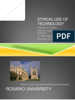 w3 ethical use of technology crosario