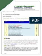 Communication -Advisory for Jan 18 -2014