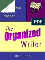 Writers Planner