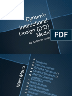 w5 dynamic instructional design did model crosario