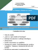 1.Introduccion a La Fisiologia y Sistemas de Control
