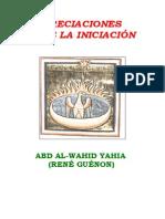 Apreciaciones sobre la Iniciación - Rene Guenon.pdf