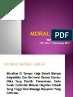 Moral Kerja