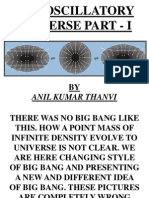 The Oscillatory Universe Part - I(AMENDED 1)