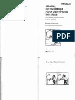 Howard Becker. Manual para científicosociales