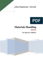material handling prd 430