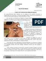 14/01/14 reducen Casos de Influenza Hasta 70% en Oaxaca