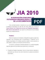 III Concurso Fotografía JIA 2010