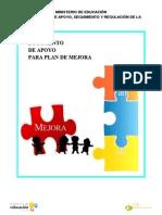 Documento de Apoyo Planes de Mejora
