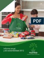Informe Anual 2012 Nutresa