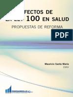 Efectos de La Ley 100 en Salud Libro Salud Web