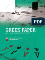 Gaming Green Paper