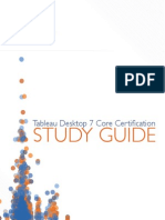 Tableau Study Guide