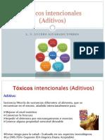 3. Toxicos Intencionales