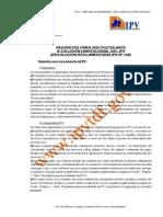 Requisitos Ipv