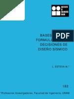 182 BASES PARA DECISIONES DISEÑO SISMICO