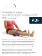 Terapia de Yoga Para Las Rodillas _ Yoga Internacional