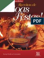 Receitas de Boas Festas e Natal - Nestlé (2009)