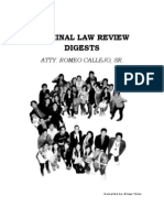 Criminal Law Case Digests