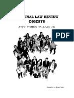 Criminal Law Case Digests