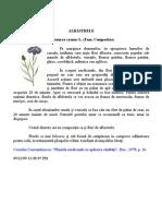 Plante medicinale - Albăstrelele