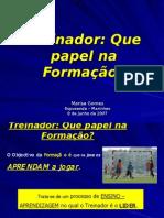 Formação - Treinador Futebol