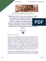 Æ -John Dewey, L'art comme expérience, Œuvres philosophiques III