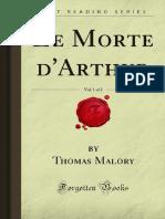 Le Morte dArthur v1