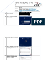 ITProGuru InstallingWindowsServer2012 HOL Guide With Pictures