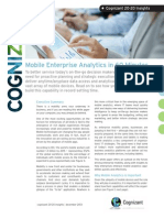 Mobile Enterprise Analytics in 60 Minutes