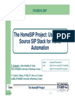 SIP Automation System Information