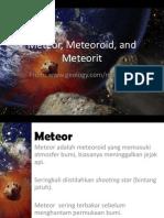 26.Meteor, Meteoroid, And Meteorit (Indonesian)