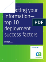 Protecting Your Information Top10 Deployment Success Factors Wp