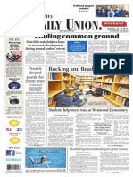 The Daily Union. January 18, 2014