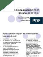 Planes de Comunicación en la Gestión RSE y Públicos