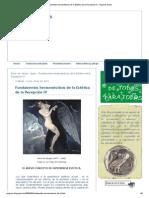 Fundamentos hermenéuticos de la Estética de la Recepción IV _ Angelus Novus