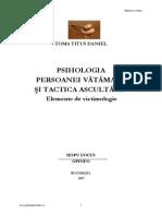 Esti o Victima Usoara- Descoperi Citind Psihologia Victimei