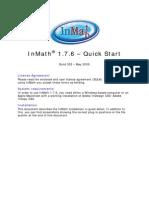 Inmath 1.7.6 Cs3 Quick Start