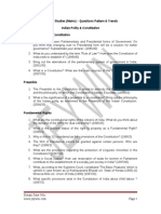 UPSC Mains General Studies Indian Polity and Constitution (1)