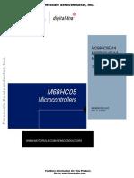 MC68HC05J1A Data sheet