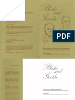 Blake and Goethe Bidney