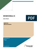 MC68HC908JL16 Data sheet