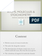 Atoms Molecules and Stoichiometry